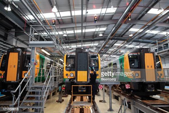 Inside a siemens ag rail stock servicing depot photos and for Depot krefeld