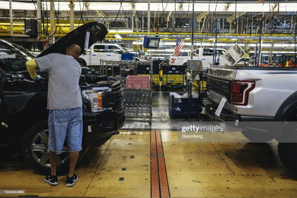 Ford Holds Event At Rouge Plant : News Photo