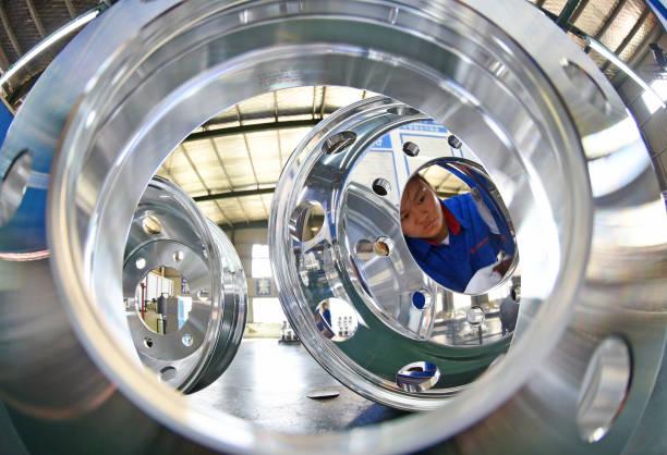 CHN: Wheel Hub Manufacturing In Lianyungang