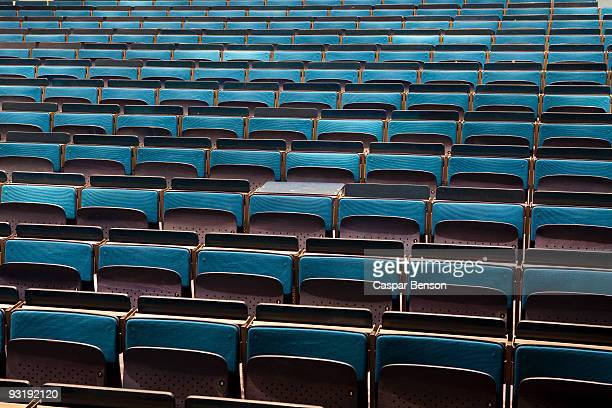 an empty auditorium - education building stock pictures, royalty-free photos & images