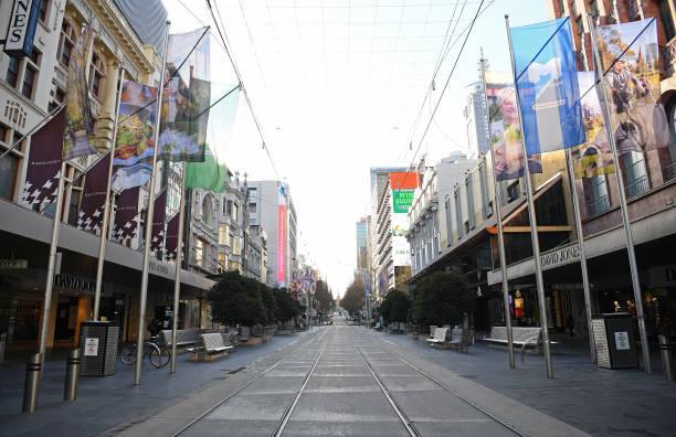 AUS: Melbourne In Lockdown As Victoria Works To Contain COVID-19 Spread
