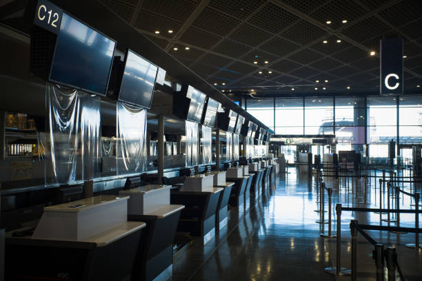 JPN: Operations At Narita Airport As Japan's Entry Ban On Foreign Travelers Continues