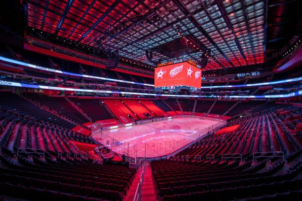 MI: Dallas Stars v Detroit Red Wings