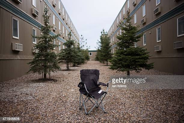 An empty migrant workers camp on April 29th north of Fort McMurray Canada Fort McMurray is currently coping with an economic downturn as a result of...