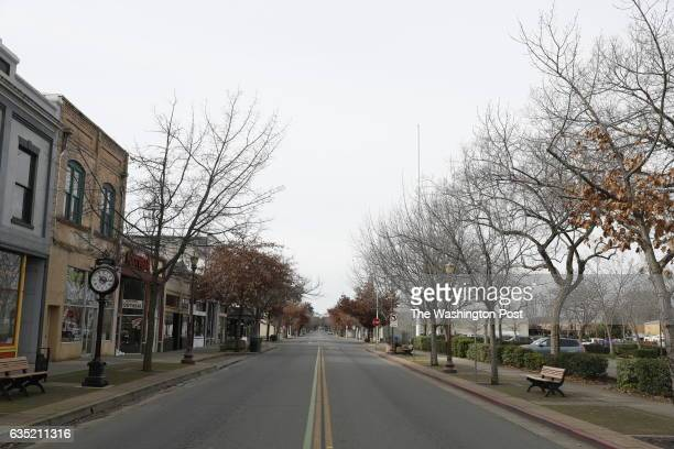 February 13: An empty Montgomery Street in downtown Oroville is seen in Oroville, California, February 13, 2017. More than 200,000 residents were...