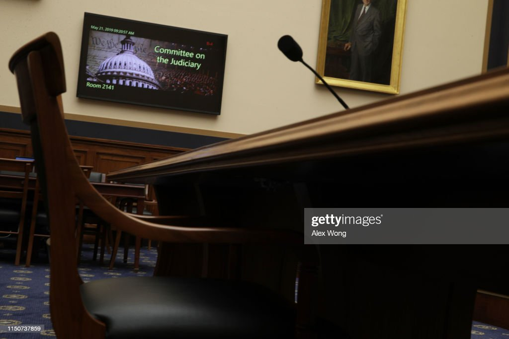 Former White House Counsel Don McGahn Subpoenaed To Testify Before House Judiciary Committee : News Photo