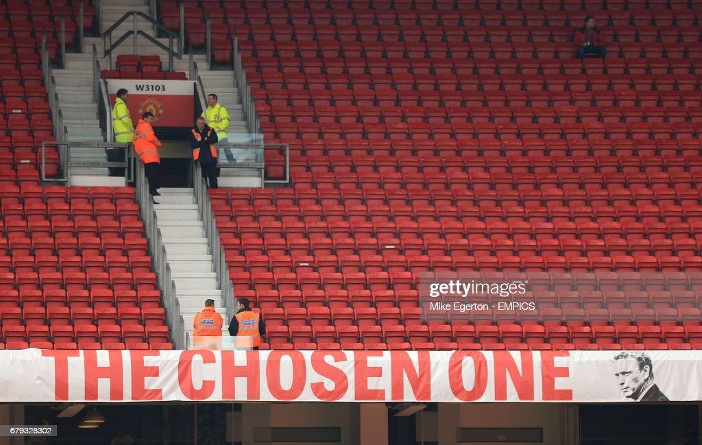 Soccer - Barclays Premier League - Manchester United v Aston Villa - Old Trafford : News Photo