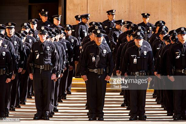 An End of Watch memorial service was held for fallen LAPD Officer Nicholas Choung Lee. Officer Lee was killed on duty in a traffic collision last...