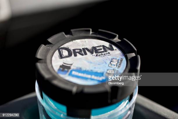An Energizer Holdings Inc Driven by Refresh Your Car brand gel air freshener is displayed for a photograph in Tiskilwa Illinois US on Tuesday Jan 30...