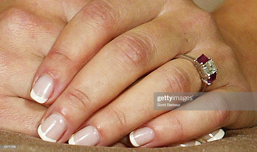 Mary Donaldson's engagement ring : News Photo