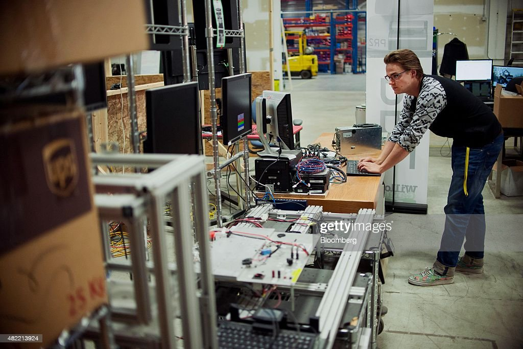 Operations Inside The Clearpath Robotics Inc. Facility : News Photo
