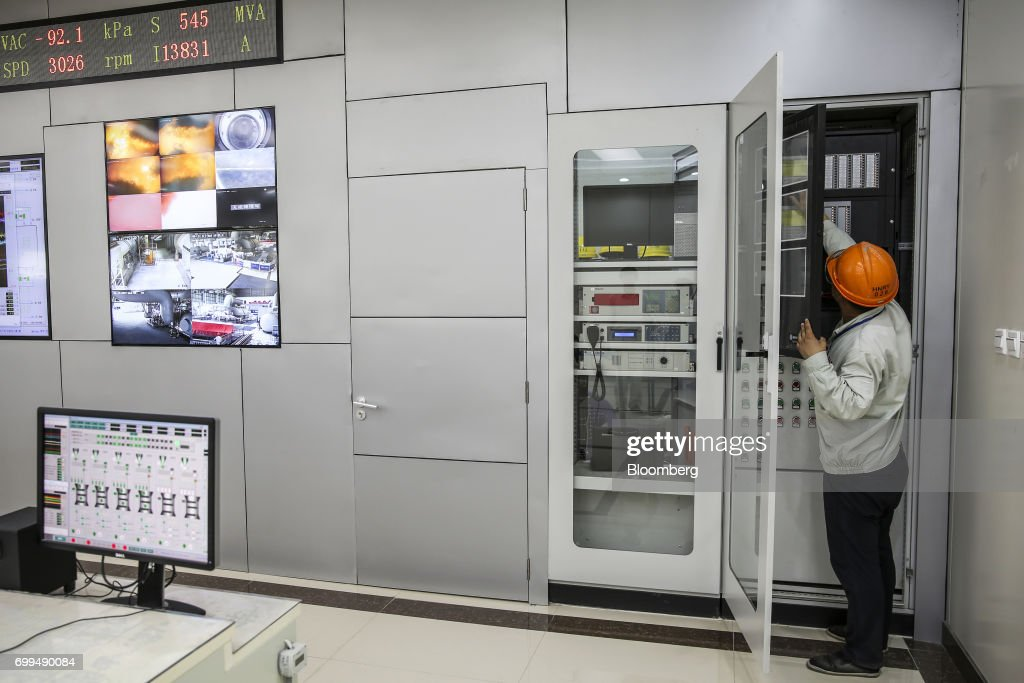 An engineer works in a control room at the Sahiwal coal power plant owned by China`s stateowned Huaneng Shandong Rui Group in Sahiwal Punjab Pakistan.