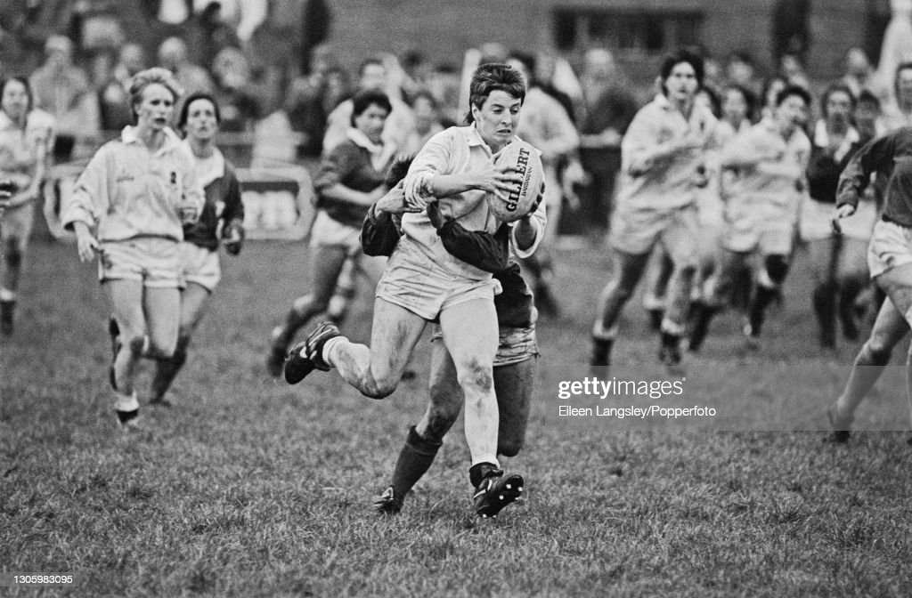 England v Italy At 1991 Women's Rugby World Cup : ニュース写真