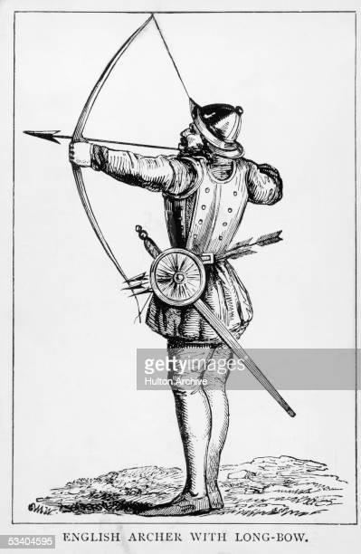 An English archer with a longbow circa 1500