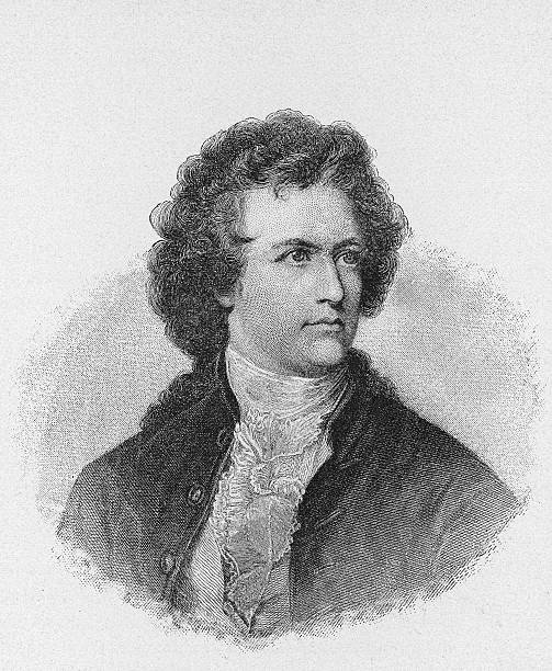 Engraving Of Johann Wolfgang Von Goethe Wall Art
