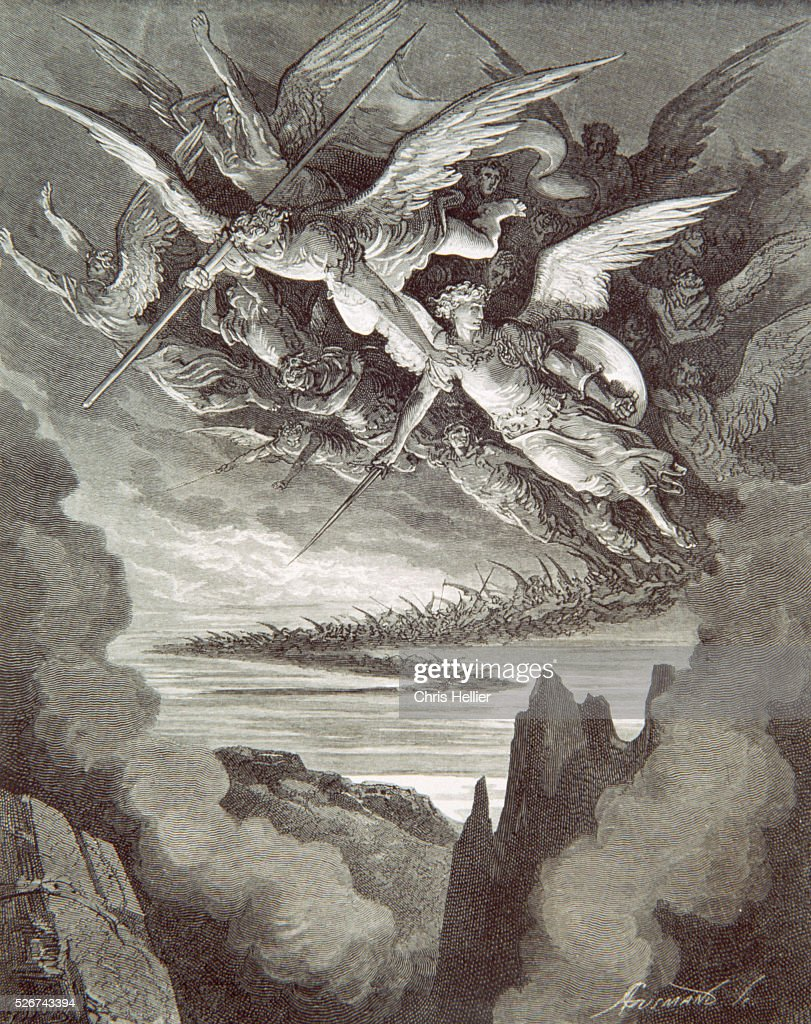 Fallen Angels by Gustave Dore : News Photo