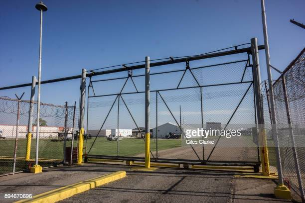 PRISON LOUISIANA OCTOBER An entrance gate into one of the maximum security wings at Angola Prison An entrance gate at a maximum security wing at...