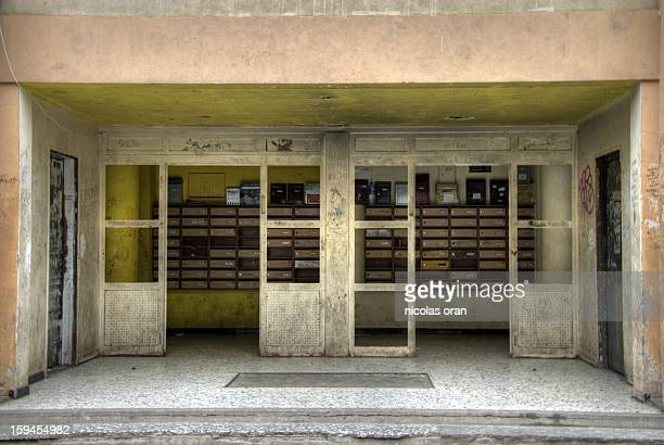 CONTENT] an entrance hall in one of the bad blocks of clichy sous bois in paris's suburb