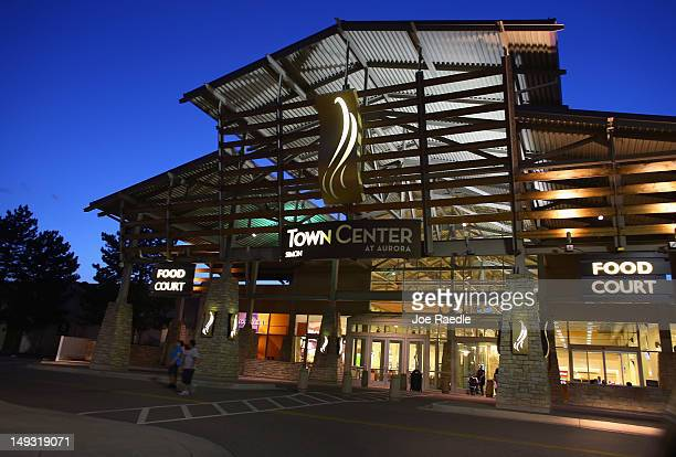 An entrance to the Town Center mall is seen which is nearby to the Century 16 movie theatre where James Holmes is suspected of a mass shooting on...
