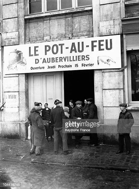 FEU an establishment aiding those in need in Aubervilliers on February 23 1940