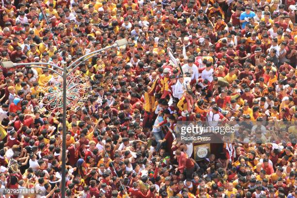 BRIDGE MANILA NCR PHILIPPINES An estimated 21 million have and are currently participating the 2019 feast of the Black Nazarene today January 9 The...