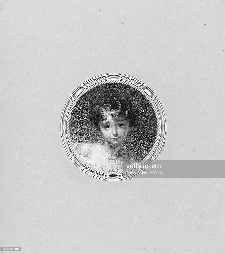 An etching from a portrait of a young Ada Lovelace, she was the only legitimate child of Lord Byron, she wrote the firs algorithm that was meant to be executed by a machine while working with Charles Babbage's Analytical Engine, she is regarded as the world's first computer programmer, she died at age 36 of uterine cancer, 1830. From the New York Public Library. (Photo by Smith Collection/Gado/Getty Images).