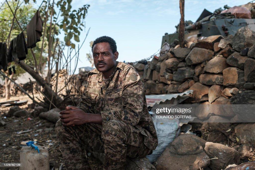 ETHIOPIA-TIGRAY-CONFLICT-UNREST : News Photo