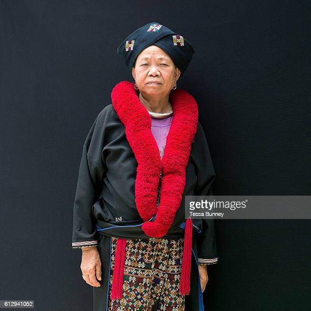 An ethnic Yao/Mien woman from Chiang Rai province at Baan Tong Luang EcoAgricultural Hill Tribes Village on 7th June 2016 in Chiang Mai province...