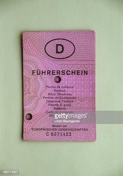An EU driving license