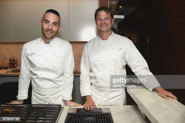 An Evening At One West End With chefs Mario Carbone And Rich Torrisi on June 13 2018 in New York City