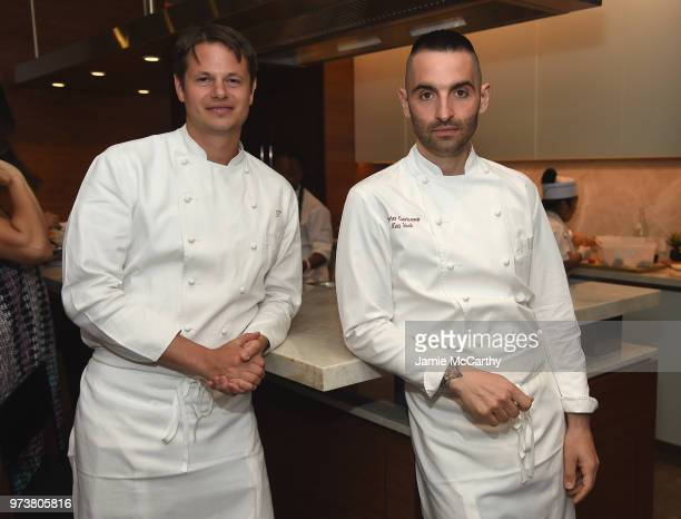 An Evening At One West End With chefs Mario Carbone And Rich Torrisi June 13 2018 in New York City