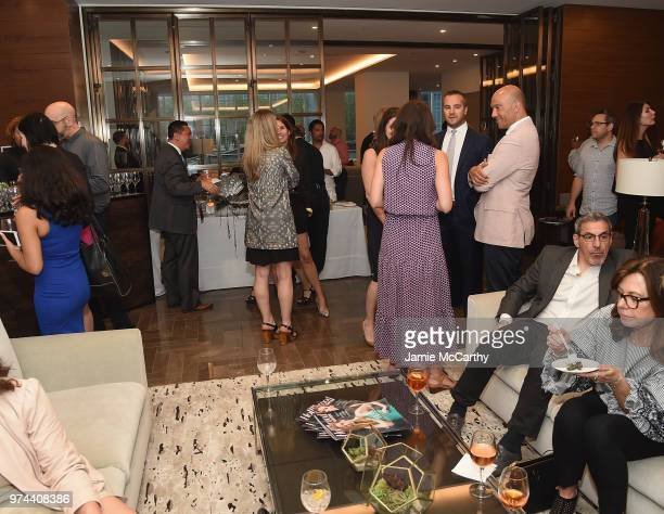 An Evening At One West End With Mario Carbone And Rich Torrisi on June 13 2018 in New York City