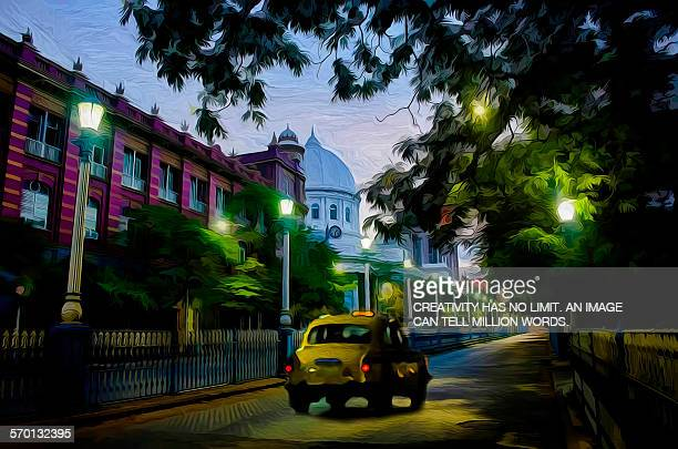An evening in Calcutta