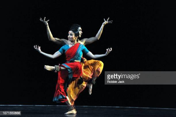 An Evening of Bharatanatyam choreographed by Mavin Khoo and performed by Renjith Babu and Neha Mondal Chakravarty as part of Darbar Festival at...