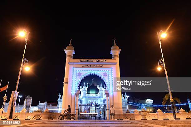 An evening view of the Zahir Mosque located in the heart of Alor Star is Kedah's state mosque It is one of the grandest and oldest mosques in...