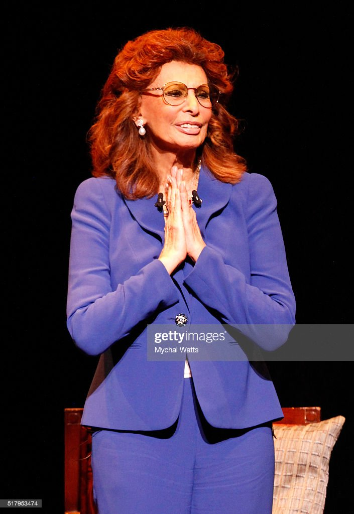 An Evening With Sophia Loren At Kravis Center