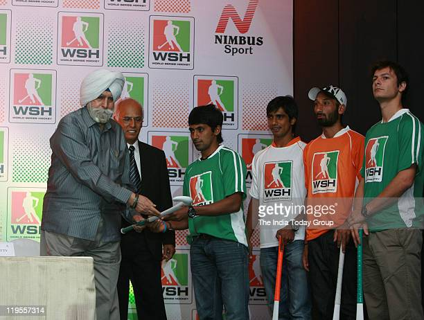 An event was organised to announce a joint venture between the Indian Hockey Federation and Nimbus Sport World Series Hockey which will be played...