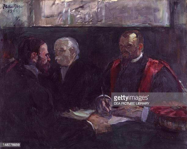 An examination in the faculty of medicine in Paris by Henri de ToulouseLautrec Albi Musée ToulouseLautrec