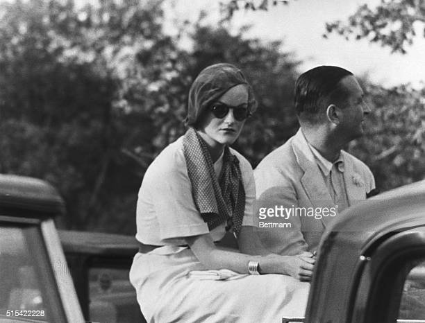 An excellent photograph made by a Universal Newsreel photographer, of Doris Duke, the richest girl in the world, heiress to the Duke tobacco fortune,...