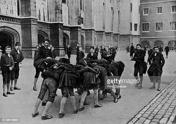 pupils of Christ's Hospital school City of London circa 1900 Founded in 1552 Christ's Hospital was the result of the vision of King Edward VI...