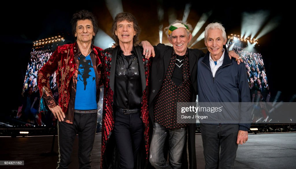 The Rolling Stones 'STONES - NO FILTER' UK Tour : News Photo