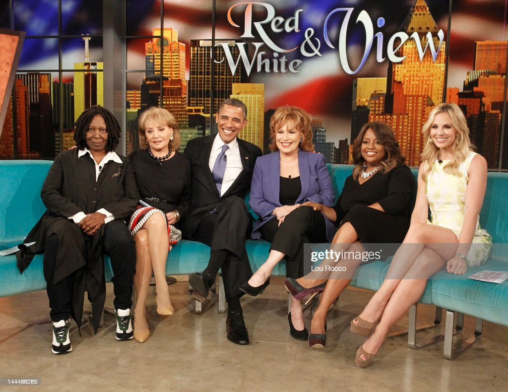 THE VIEW - An exclusive interview with President Barack Obama, the 44th President of the United States, will air on ABC's 'The View,' TUESDAY, MAY 15 (11:00 a.m. -12:00 p.m., ET). President Obama's exclusive appearance is part of the show's continuing 'Red, White & View' campaign, which is committed to political guests and discussions. The interview was taped on May 14, 2012. 'The View' airs Monday-Friday (11:00 a.m.-12:00 p.m., ET) on the ABC Television Network. HASSELBECK
