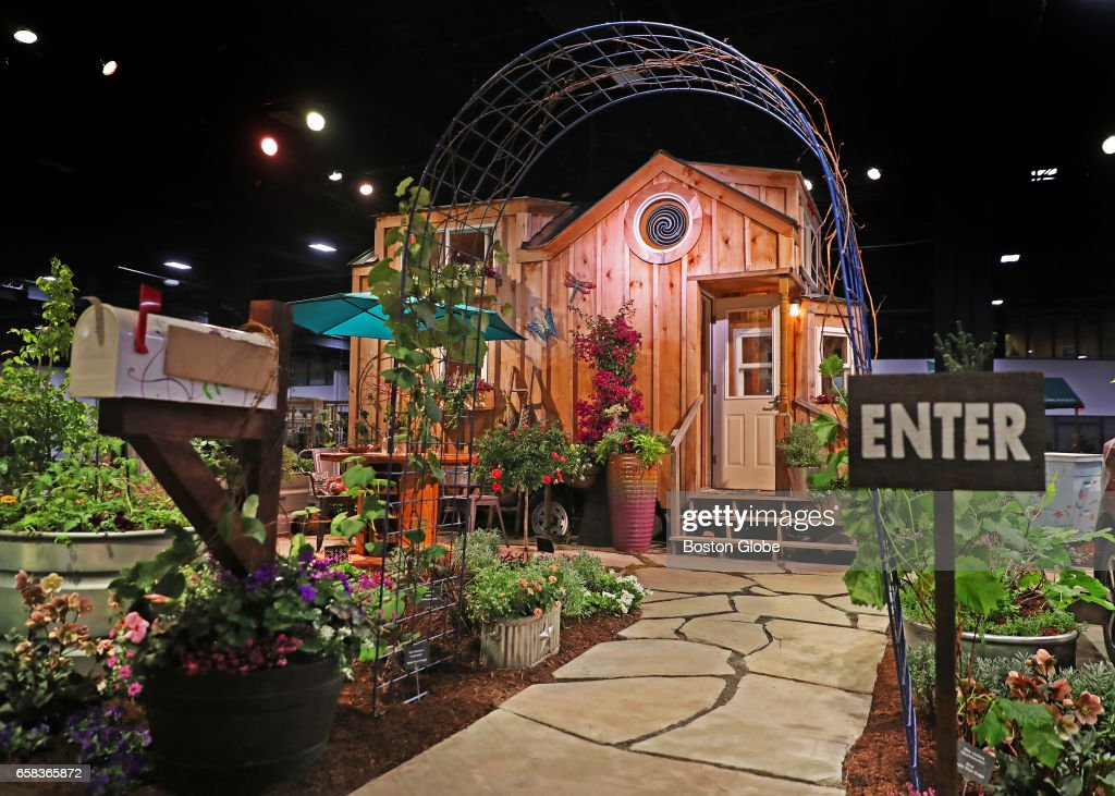 An exhibit at the boston flower and garden show 2017 is pictured at news photo getty images for Boston flower and garden show 2017