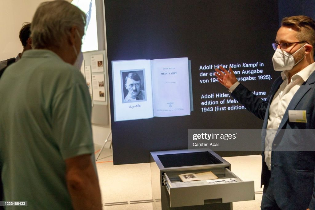 Press Preview Of Documentation Center For Displacement, Expulsion And Reconciliation : News Photo