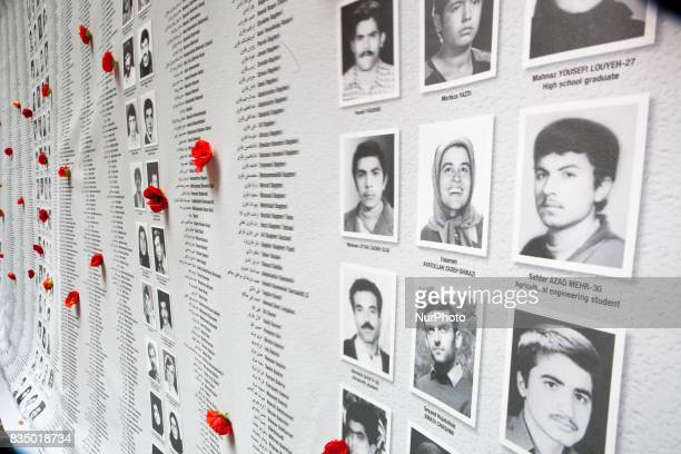 An exhibition on the massacre of 30000 political prisoners in Iran in the summer of 1988 took place upon the initiative of JeanFrançois Legaret the...