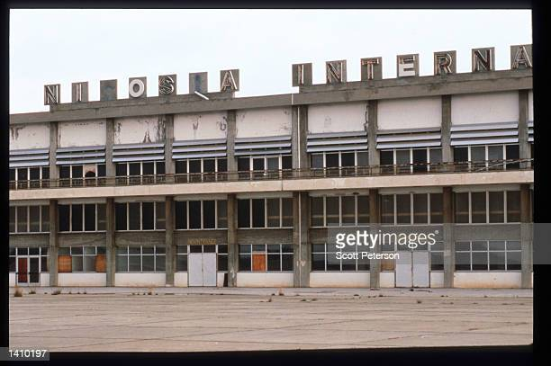 An ex-Nicosia airport forms part of the UN-controlled buffer zone January 6, 1998 in Cyprus. Early in 1998, Cyprus will engage in negotiations...