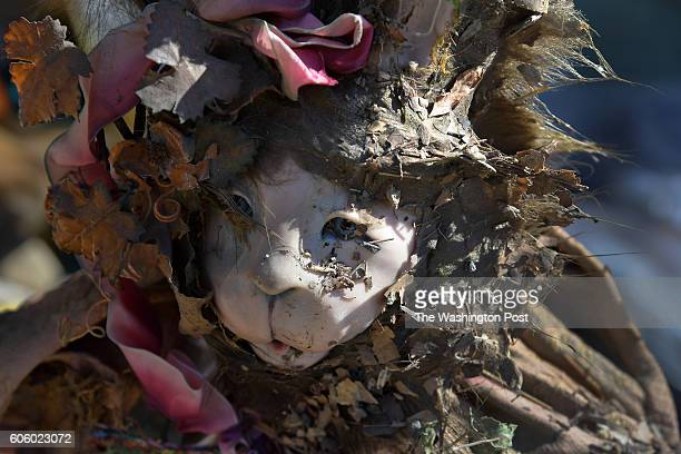 An expensive doll that cannot be salvaged is caked with detritus from the flood August 07 2016 in Ellicott City MD A devastating storm dumped six...