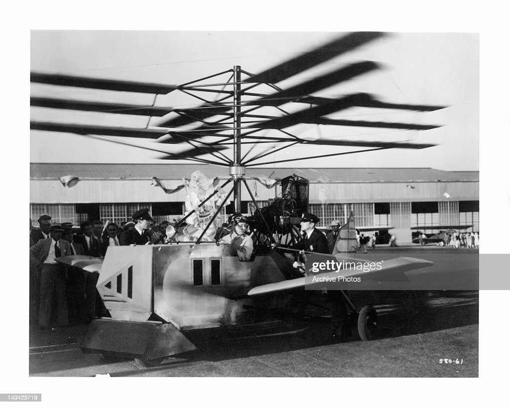 An experimental plane in a scene from the film 'Flying High', 1931. News  Photo - Getty Images