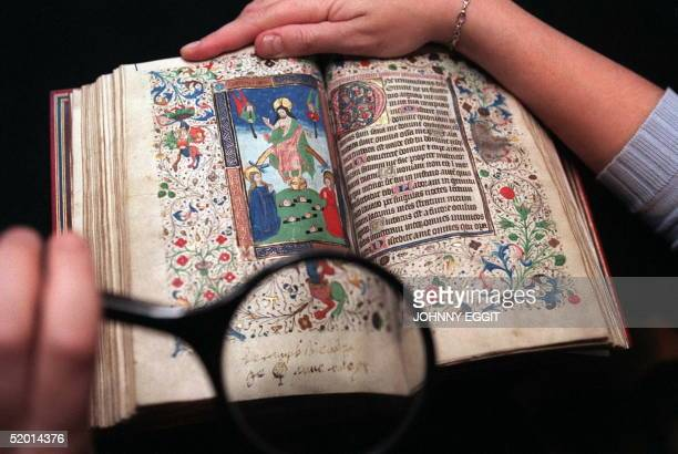 An expert takes a close look at Anne Boleyn's 'Book of Hours' never seen before in public and inscribed by her before it is due to go under the...