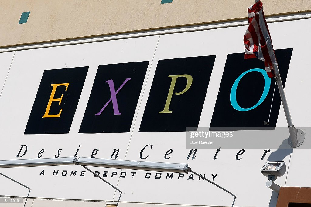 An Expo Design Center A Home Depot Inc Store Is Seen On January 26 2009 In